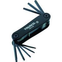 トラスコ中山 TRUSCO ヘックスローブレンチセット ナイフ式 TNH8S 1セット(8本:8本入×1個) 366ー8983 (直送品)