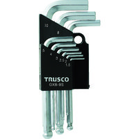 トラスコ中山 TRUSCO ボールポイント六角棒レンチセット 9本組 GXB9S 1セット(9本:9本入×1セット) 125ー2381 (直送品)