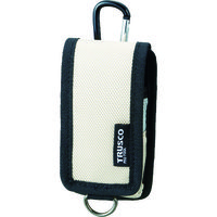 トラスコ中山 TRUSCO コンパクトツールケース 携帯電話用 ベージュ TCTC1202BG 1個 363ー8561 (直送品)