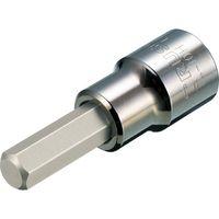 トラスコ中山(TRUSCO) ヘキサゴンソケット10mm(差込角12.7mm) T4-10H 1個 329-3637 (直送品)