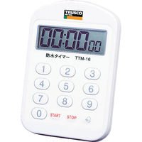 トラスコ中山(TRUSCO) TRUSCO 防水タイマー 音量切換タイプ TTM-16 1個 352-0633 (直送品)