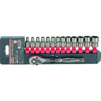 トラスコ中山 TRUSCO ソケットレンチセット 6角タイプ 差込角6.35 14S TSW214S 1セット 301ー9756 (直送品)