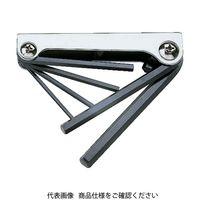 トラスコ中山 TRUSCO ナイフ式六角棒レンチセット 6本組 GN6258 1セット(6本:6本入×1個) 125-2135 (直送品)