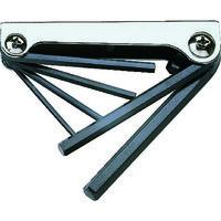 トラスコ中山 TRUSCO ナイフ式六角棒レンチセット 6本組 GN6310 1セット(6本:6本入×1個) 125-2119 (直送品)