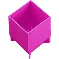トラスコ中山(TRUSCO) 樹脂BOX Aサイズ 50X50X55 (4個入) PT-A4 1袋(4個) 222-2426 (直送品)