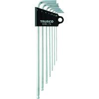 トラスコ中山 TRUSCO ロングボールポイント六角棒セット 7本組 GXBL7S 1セット(7本:7本入×1セット) 125ー2968 (直送品)