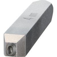 トラスコ中山 TRUSCO バラ刻印 4mm 0 SKD400 1本 228ー5614 (直送品)