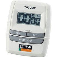 トラスコ中山(TRUSCO) デジタルタイマー T6300W 1個 330-5112 (直送品)