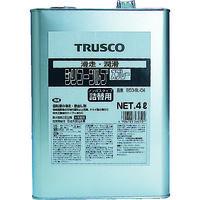 トラスコ中山(TRUSCO) αシリコンルブ 4L ECO-SL-C4 1個 512-3119 (直送品)