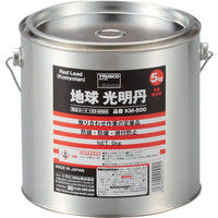 トラスコ中山 TRUSCO 光明丹 5Kg KM500 1缶 123ー6695 (直送品)