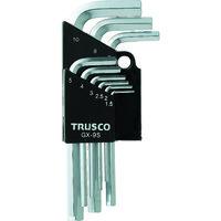 トラスコ中山 TRUSCO 六角棒レンチセット 9本組 GX9S 1セット(9本:9本入×1セット) 125ー3387 (直送品)