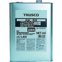 トラスコ中山 TRUSCO αホワイトオイル 4L ECOWOC4 1缶 512ー3097 (直送品)