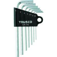 トラスコ中山 TRUSCO 六角棒レンチセット 7本組 GX7S 1セット(7本:7本入×1セット) 125ー3361 (直送品)
