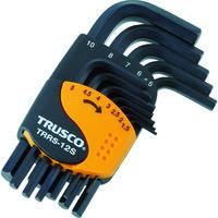 トラスコ中山 TRUSCO 六角棒レンチセット ショートタイプ 12本組 TRRS12S 1セット 366-9351 (直送品)