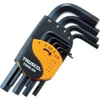 トラスコ中山(TRUSCO) 六角棒レンチセット ショートタイプ 9本組 TRRS-9S 1セット 366-9360 (直送品)