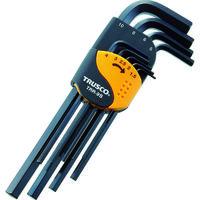 トラスコ中山 TRUSCO 六角棒レンチセット 標準タイプ 9本組 TRR9S 1セット(9本:9本入×1セット) 366ー9327 (直送品)