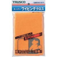 トラスコ中山 TRUSCO スーパーワイピングクロス 300mmX300mm 黄 SWC30 1枚 219ー6077 (直送品)