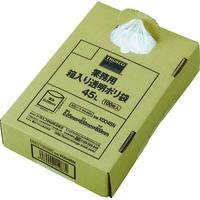 トラスコ中山 TRUSCO 業務用ポリ袋 透明・箱入り 0.05X45L 100枚入 X0045N  353ー9989 (直送品)
