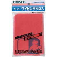 トラスコ中山 TRUSCO スーパーワイピングクロス 300mmX300mm 赤 SWC30 1枚 219ー6069 (直送品)