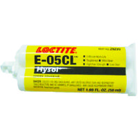 ヘンケルジャパン ロックタイト エポキシ接着剤 Hysol Eー05CL 50ml E05CL50 1本 332ー7493 (直送品)