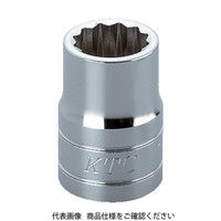 京都機械工具 KTC 12.7sq.ソケット(十二角)19mm B419W 1個 307ー4749 (直送品)