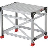 TRUSCO(トラスコ中山) 作業用踏台 アルミ製・高強度タイプ 1段 50cm TSF165 1台 262-1622 (直送品)