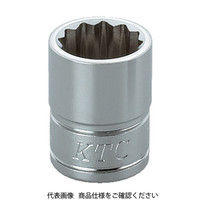 京都機械工具 KTC 9.5sq.ソケット(十二角)22mm B322W 1個 307ー3912 (直送品)