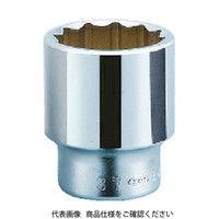 京都機械工具 KTC 19.0sq.ソケット(十二角)19mm B4019 1個 344ー7707 (直送品)