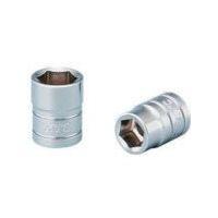 京都機械工具 KTC 6.3sq.ソケット(六角)1/8inch B218 1個 373ー1162 (直送品)