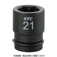京都機械工具 KTC 12.7sq.インパクトレンチ用ソケット(標準) ピン・リング付15mm BP4-15P 1セット 307-9431 (直送品)