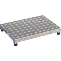 TRUSCO(トラスコ中山) 踏台 低床用アルミ製ステップ 12cm TFS0645AL 1台 336-2256 (直送品)