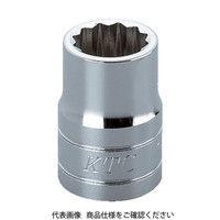 京都機械工具 KTC 12.7sq.ソケット(十二角)27mm B4-27W 1個 307-4820 (直送品)