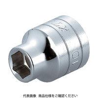 京都機械工具 KTC 12.7sq.ソケット(六角)10mm B410 1個 307ー4366 (直送品)