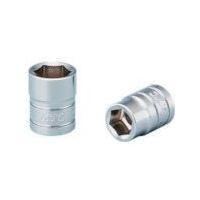 京都機械工具 KTC 6.3sq.ソケット(六角)7/16inch B2716 1個 373ー1235 (直送品)