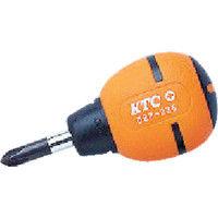 京都機械工具 KTC ソフトスタッビドライバ クロスNo.1 D9P125 1本 373ー3971 (直送品)