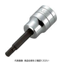 京都機械工具 KTC 12.7sq.ヘキサゴンビットソケット10mm BT4-10 1個 307-7934 (直送品)