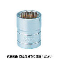 京都機械工具 KTC 9.5sq.ソケット(十二角)9/32inch B3-9/32W 1セット 373-1804 (直送品)