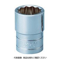 京都機械工具 KTC 12.7sq.ソケット(十二角)3/8inch B438W 1個 373ー2550 (直送品)