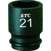 京都機械工具 9.5sq.インパクトレンチ用ソケット(セミディープ薄肉)21mm BP3M-21TP 1個 359-7300 (直送品)