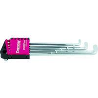 旭金属工業 ASH ロングダックスキー六角棒レンチセット9本組 DYS0910 1セット(9本:9本入×1セット) 364ー1601 (直送品)