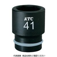 京都機械工具 KTC 19.0sq.インパクトレンチ用ソケット(標準)ピン・リング付27mm BP6-27P 1個 307-9783 (直送品)