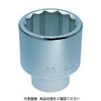 京都機械工具 KTC 25.4sq.ソケット(十二角)65mm B5065 1個 344ー8088 (直送品)
