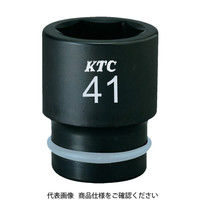 京都機械工具 KTC 19.0sq.インパクトレンチ用ソケット(標準)ピン・リング付19mm BP619P 1個 307ー9724 (直送品)