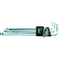 京都機械工具 KTC ボールポイントL形ロング六角棒レンチセット[9本組] HL259BSP 1セット(9本:9本入×1セット) 373-4552 (直送品)