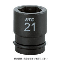 京都機械工具 KTC 12.7sq.インパクトレンチ用ソケット(標準) ピン・リング付24mm BP424P 1個 307ー9503 (直送品)