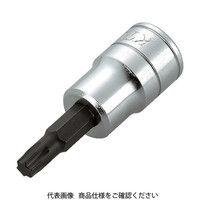 京都機械工具 KTC 9.5sq.ショートT型トルクスビットソケットT50 BT3T50S 1個 307ー8442 (直送品)