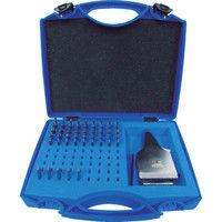 浦谷商事 浦谷 ハイス精密組合刻印 Bセット3.0mm UC30BS 1セット 294ー0370 (直送品)