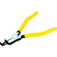 京都機械工具 KTC 曲型スナップリングプライヤ軸用 Ф2.0 SOP172 1セット(1丁入) 373ー8230 (直送品)