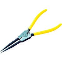 京都機械工具 KTC 直型ロングスナップリングプライヤ軸用 Ф1.2 SOP171LL 1セット(1丁入) 373ー8221 (直送品)