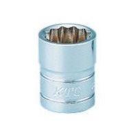 京都機械工具 KTC 6.3sq.ソケット(十二角)7/16inch B2716W 1個 373ー1243 (直送品)